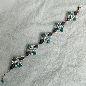 Vintage Avon JJH rhinestone bracelet